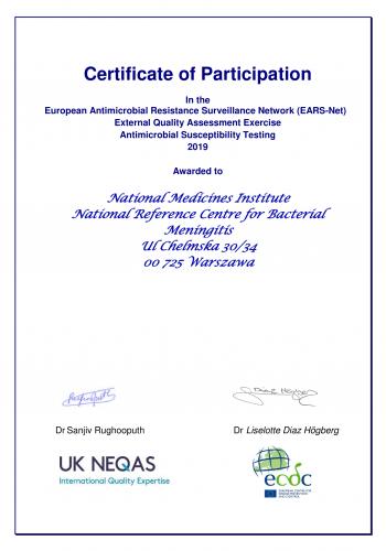 Certyfikat_EARS_NET_2019