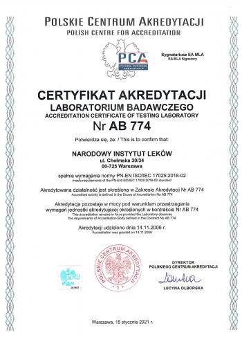 Certyfikat_PCA